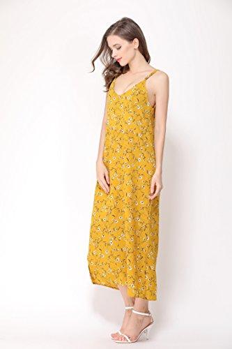 Long Casual Spaghetti Strap Dress