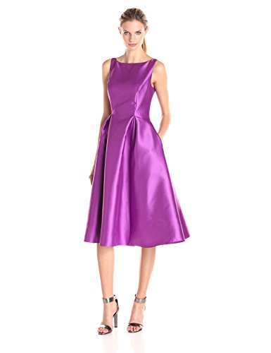 1be5f910b Adrianna Papell Women s Sleeveless Mid-Length Party Dress with V-Back -  Midi Length Dress Deals   Offers
