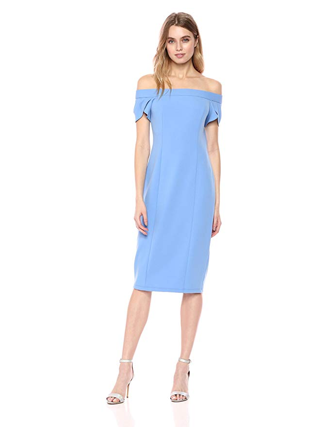 Tadashi Shoji Lace Midi Dress